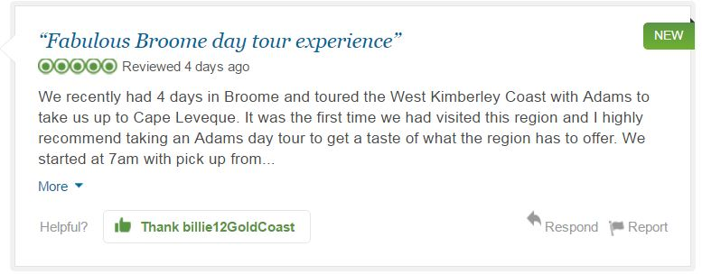 Billie12GoldCoast, TripAdvisor Review