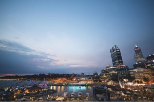 Elizabeth Quay by night, Perth City Highlights. Photo Credit: Tourism Western Australia