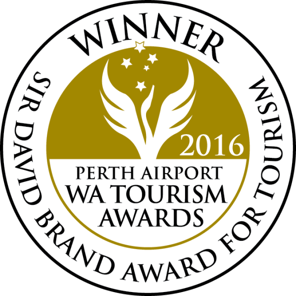 Sir David Brand Award for Tourism Winner (col) outlines