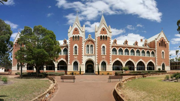 St Gertrude's College, New Norcia, benedictine, abbey, building