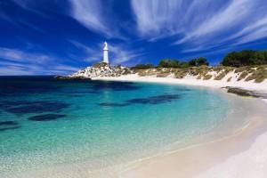 Bathurst Lighthouse, Rottnest Island. Photo Credit: Rottnest Island Authority