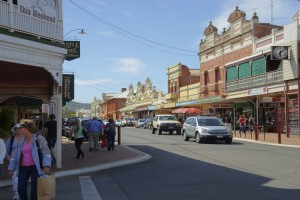 Avon Terrace Streetscape, York. Photo Credit: Tourism Western Australia