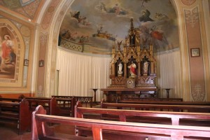 Inside Abbey Church, New Norcia