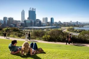 Perth City Skyline, Kings Park. Photo Credit: Tourism Western Australia