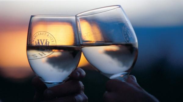 2 x wine glasses
