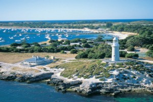 Bathurst Lighthouse & Thompson Bay, Rottnest Island. Photo Credit: Tourism Western Australia