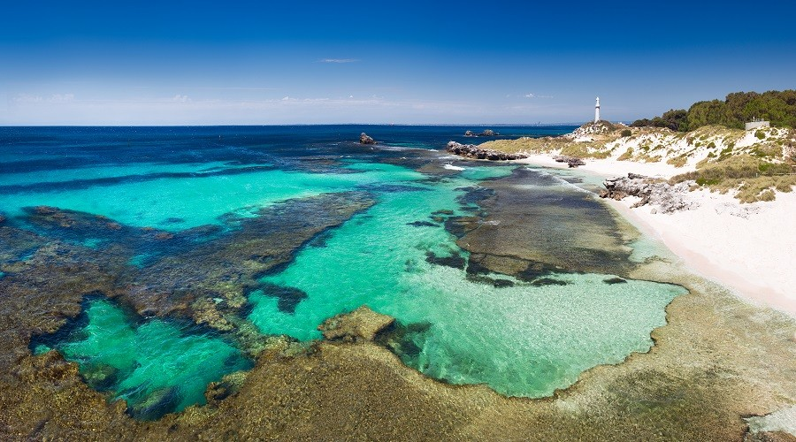 The Basin, Rottnest Island. Photo Credit: Luke Austin