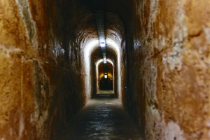 Oliver Hill Gun Fortification and Tunnels, Rottnest Island. Photo Credit: Rottnest Island Authority